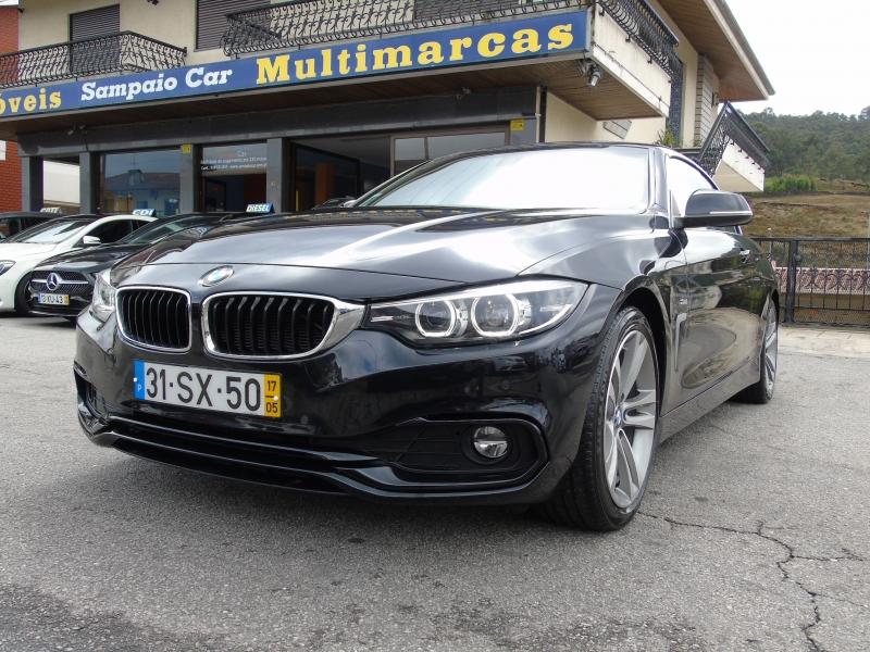 BMW Série 4 420d 190cv Cabrio Line Sport AUTO